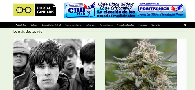 home del Portal Cannabis